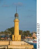 Купить «Маяк в парке Монтаза в Александрии», фото № 1418037, снято 5 января 2010 г. (c) Андрей Голубев / Фотобанк Лори