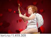Купить «Маленький купидон», фото № 1419309, снято 17 января 2010 г. (c) Raev Denis / Фотобанк Лори