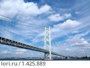 Мост Акаси-Кайкё, Япония. Стоковое фото, фотограф Артём Скороделов / Фотобанк Лори