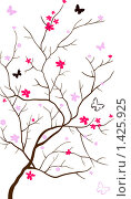 Купить «Цветение сакуры», иллюстрация № 1425925 (c) Светлана Арешкина / Фотобанк Лори
