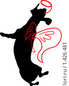 Райская такса. Стоковая иллюстрация, иллюстратор Светлана Арешкина / Фотобанк Лори