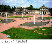 Дрезден. Цвингер. (2008 год). Редакционное фото, фотограф Светлана Степачёва / Фотобанк Лори