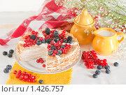 Блинный пирог. Стоковое фото, фотограф Давид Мзареулян / Фотобанк Лори