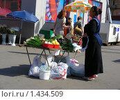 Купить «Уличная торговля овощами», эксклюзивное фото № 1434509, снято 30 июня 2009 г. (c) lana1501 / Фотобанк Лори