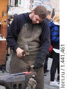 Купить «Кузнец», фото № 1441461, снято 29 марта 2009 г. (c) Бельская (Ненько) Анастасия / Фотобанк Лори