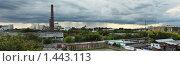 Панорама, город. Стоковое фото, фотограф Сунгатулина Эльвира / Фотобанк Лори