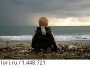 Человек и море. Стоковое фото, фотограф Воронина Милана / Фотобанк Лори