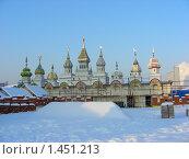 Купить «Вернисаж. Измайловский Кремль. Москва», эксклюзивное фото № 1451213, снято 30 января 2010 г. (c) lana1501 / Фотобанк Лори