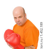 Купить «Боксер», фото № 1452189, снято 14 февраля 2009 г. (c) Валентин Мосичев / Фотобанк Лори