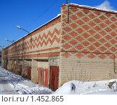Купить «Гаражи», фото № 1452865, снято 6 февраля 2010 г. (c) АЛЕКСАНДР МИХЕИЧЕВ / Фотобанк Лори
