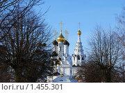 Православный Храм в Багратионовске. Стоковое фото, фотограф Качанов Владимир / Фотобанк Лори