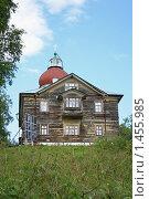 Купить «Уникальный храм на Секирной горе на острове Соловки», фото № 1455985, снято 12 августа 2008 г. (c) Parmenov Pavel / Фотобанк Лори