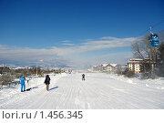 Лыжная трасса в Банско (2010 год). Редакционное фото, фотограф ZitsArt / Фотобанк Лори