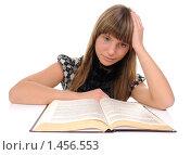 Купить «И все это выучить?», фото № 1456553, снято 4 февраля 2010 г. (c) Валерий Александрович / Фотобанк Лори