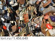 Купить «Замки молодоженов», фото № 1456649, снято 6 февраля 2010 г. (c) Екатерина Овсянникова / Фотобанк Лори