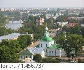 Вид сверху на Вологду (2007 год). Стоковое фото, фотограф Александр Справников / Фотобанк Лори