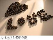 Кофейные зерна. Стоковое фото, фотограф Natalisha / Фотобанк Лори