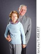 Купить «Счастливая пожилая пара», фото № 1458817, снято 19 января 2008 г. (c) Сергей Лаврентьев / Фотобанк Лори