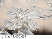 Купить «Ледяная скульптура», эксклюзивное фото № 1460457, снято 6 января 2010 г. (c) Дмитрий Неумоин / Фотобанк Лори