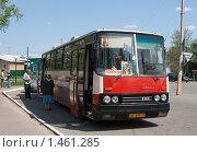 Купить «Автобус для паломников», фото № 1461285, снято 10 мая 2009 г. (c) Ярослава Синицына / Фотобанк Лори