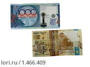 Купить «Деньги Казахстана», фото № 1466409, снято 5 февраля 2010 г. (c) Александр Малышев / Фотобанк Лори