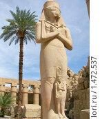 Купить «Статуя фараона», фото № 1472537, снято 21 октября 2006 г. (c) Кардаков Алексей Игоревич / Фотобанк Лори