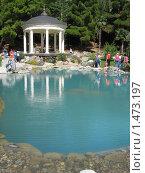 Ротонда в парке Партенита (2007 год). Стоковое фото, фотограф Кирилл Губа / Фотобанк Лори