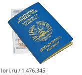 Купить «Заграничный паспорт гражданина Таджикистана и миграционная карта», эксклюзивное фото № 1476345, снято 4 декабря 2019 г. (c) Румянцева Наталия / Фотобанк Лори