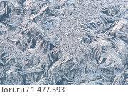 Купить «Морозные кристаллические структуры на стекле», фото № 1477593, снято 27 июня 2019 г. (c) Sergey Toronto / Фотобанк Лори