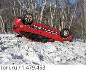 Купить «ДТП», фото № 1479453, снято 15 февраля 2010 г. (c) Салякин Виталий Валерьевич / Фотобанк Лори