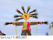 Купить «Чучело Масленицы», фото № 1485061, снято 14 февраля 2010 г. (c) Галина Щурова / Фотобанк Лори