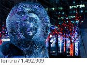 Купить «Ледяная скульптура, ice fest 2010, Торонто, Канада», фото № 1492909, снято 19 февраля 2010 г. (c) Игорь Киселёв / Фотобанк Лори