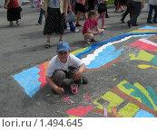 Купить «На празднике День защиты детей», фото № 1494645, снято 1 июня 2007 г. (c) Людмила Банникова / Фотобанк Лори