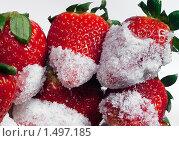 Клубника с сахаром. Стоковое фото, фотограф Александр Евсюков / Фотобанк Лори