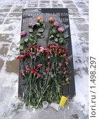 """Купить «Памятник """"Воинам, павшим в Афганистане"""" в Парке """"Дружба"""". Москва», эксклюзивное фото № 1498297, снято 17 февраля 2010 г. (c) lana1501 / Фотобанк Лори"""