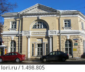 Купить «Москва. Городской пейзаж. Здание на Яузской улице», эксклюзивное фото № 1498805, снято 16 февраля 2010 г. (c) lana1501 / Фотобанк Лори