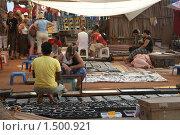 Дневной рынок в Анджуне, Гоа (2010 год). Редакционное фото, фотограф Блинова Ольга / Фотобанк Лори