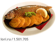 Купить «Рыба с картофелем», фото № 1501705, снято 5 мая 2008 г. (c) Коваль Василий / Фотобанк Лори