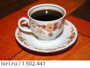 Кофе на столе. Стоковое фото, фотограф Natalisha / Фотобанк Лори