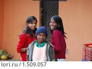 Дети Непала (2009 год). Редакционное фото, фотограф Дмитрий Ващенко / Фотобанк Лори