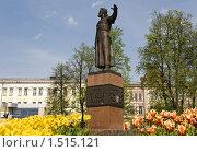 Купить «Памятник Минину в Нижнем Новгороде», фото № 1515121, снято 18 мая 2007 г. (c) Igor Lijashkov / Фотобанк Лори