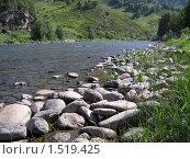 Река Сентелек. Стоковое фото, фотограф Любовь Семерьянова / Фотобанк Лори