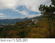 Вид на горы. Ялта (2008 год). Стоковое фото, фотограф Толкачева Мария / Фотобанк Лори