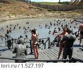 Грязевой вулкан на Тамани. Лечебные грязи. (2007 год). Редакционное фото, фотограф Дмитрий Редин / Фотобанк Лори