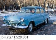 Купить «Автомобиль Волга Газ 21», фото № 1529301, снято 5 марта 2010 г. (c) Олыкайнен Наталья / Фотобанк Лори