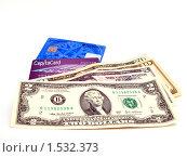 Купить «Доллары, мелкие купюры и пластиковые карты», фото № 1532373, снято 5 марта 2010 г. (c) SevenOne / Фотобанк Лори