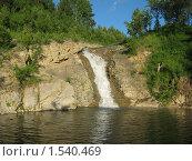 Водопад. Стоковое фото, фотограф Юрий Воробьев / Фотобанк Лори