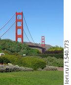 Купить «Мост Золотые ворота в Сан-Франциско», фото № 1540773, снято 4 февраля 2008 г. (c) Валентина Троль / Фотобанк Лори