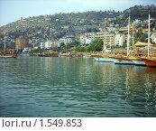 Купить «Порт. Анталия. Турция.», фото № 1549853, снято 16 августа 2007 г. (c) vlasova / Фотобанк Лори