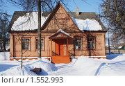 Купить «Мглинский краеведческий музей», фото № 1552993, снято 13 марта 2010 г. (c) Александр Шилин / Фотобанк Лори